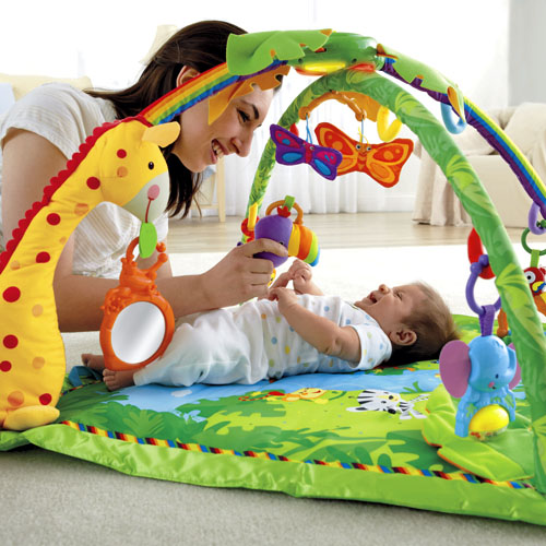 fisher price jungle play mat instructions