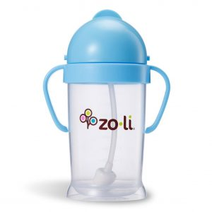 ZoLi BOT XL 9 oz Straw Sippy Cup
