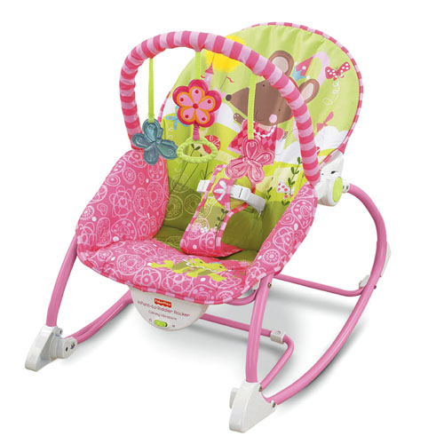 Fisher Price Princess Mouse Infant To Toddler Rocker