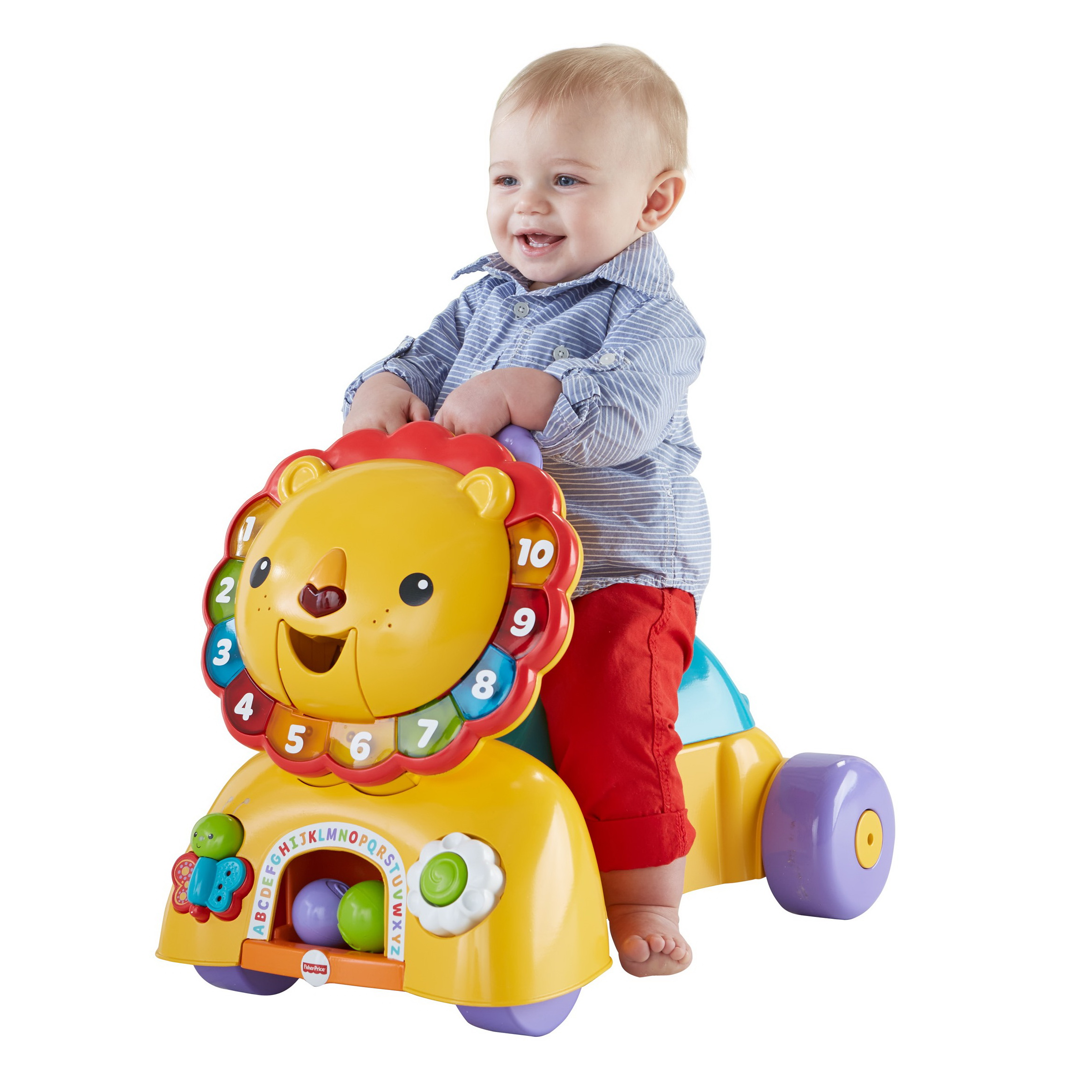 Fisher Price 3 in 1 Sit Stride and Ride Lion