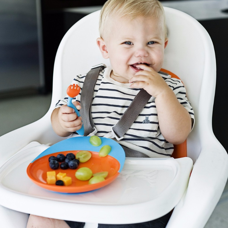 Boon Catch Plate Toddler Plate with Spill Catcher