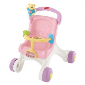 Fisher Price Brilliant Basics™ Stroll-Along Walker
